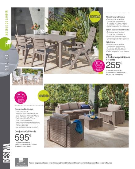 Iluminacion Baño Carrefour:Carrefour: catálogo terraza y jardín 2015 (16/52)