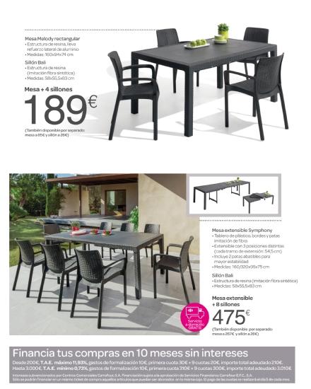 Iluminacion Baño Carrefour:Carrefour: catálogo terraza y jardín 2015 (17/52)