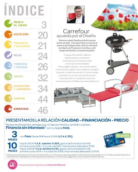 Iluminacion Baño Carrefour:Carrefour: catálogo terraza y jardín 2015 (2/52)