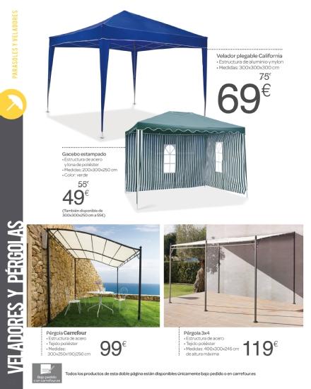 Iluminacion Baño Carrefour:Carrefour: catálogo terraza y jardín 2015 (22/52)