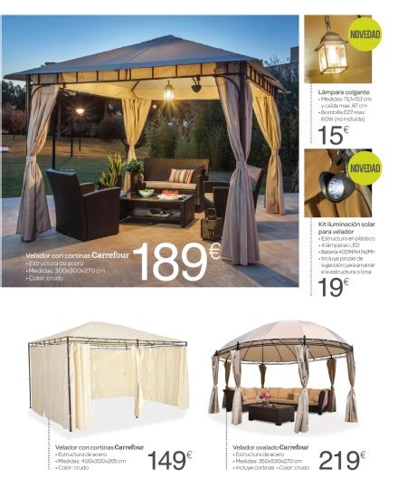 Iluminacion Baño Carrefour:Carrefour: catálogo terraza y jardín 2015 (23/52)