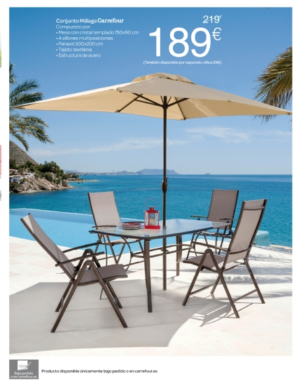 Carrefour cat logo terraza y jard n 2015 - Cesped artificial carrefour ...