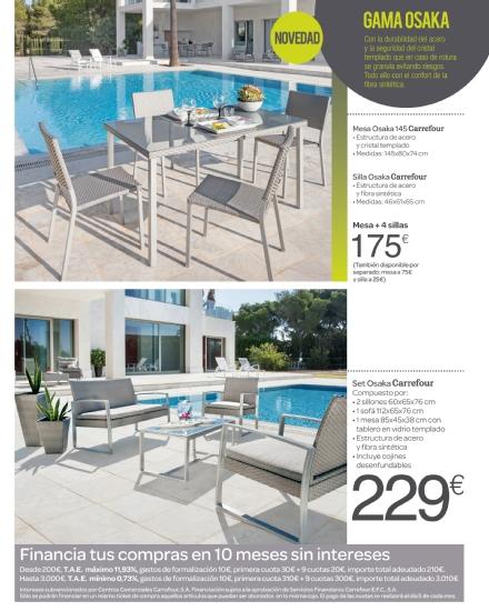 Iluminacion Baño Carrefour:Carrefour: catálogo terraza y jardín 2015 (5/52)