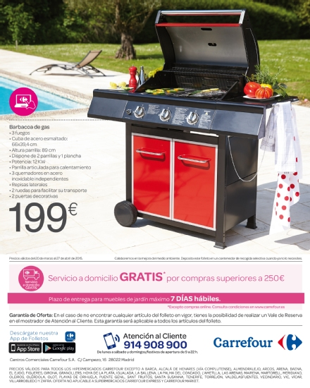 Iluminacion Baño Carrefour:Carrefour: catálogo terraza y jardín 2015 (52/52)