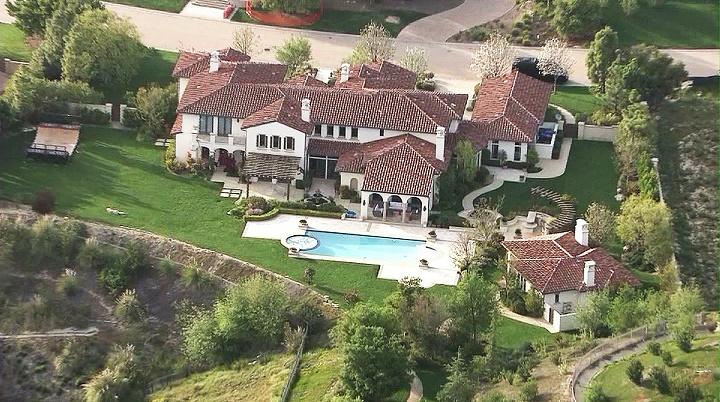 Justin Bieber los angeles casa