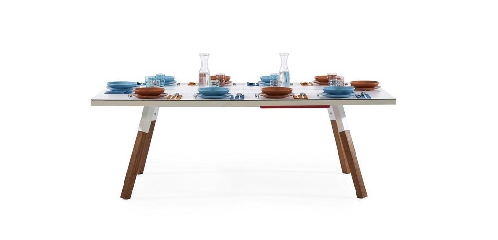 Mesa comedor y ping-pong ambiente 2