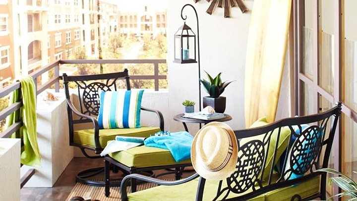 claves para decorar balcones y terrazas