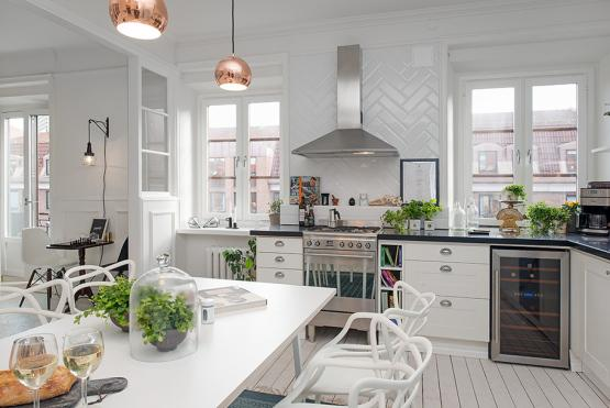 Fotos de cocinas de estilo n rdico for Cocina estilo nordico