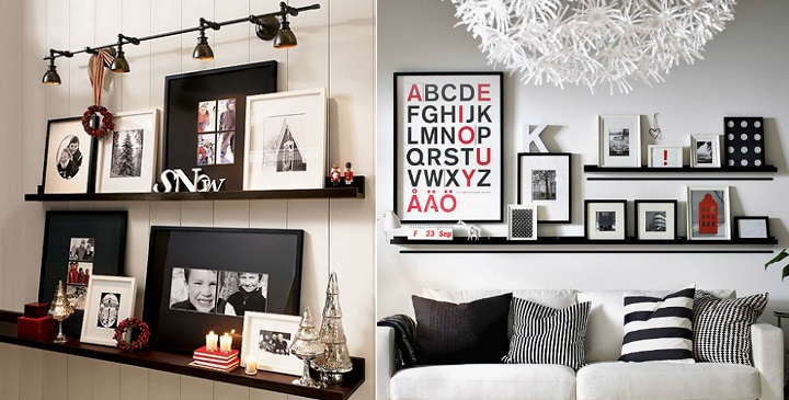 Ideas para decorar con cuadros - Decorar pared con cuadros ...