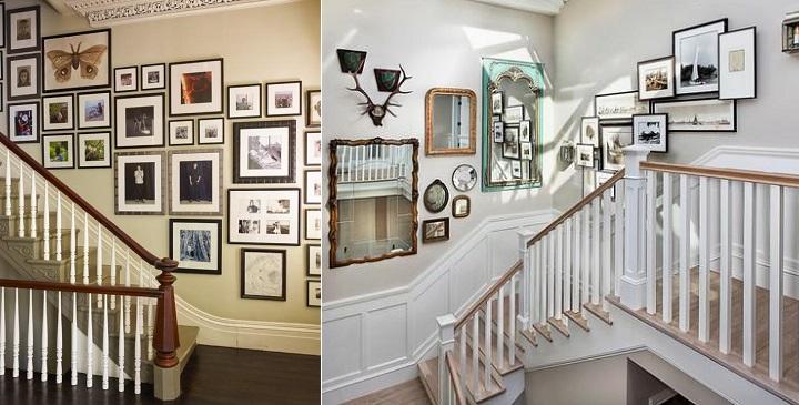 Cuadros Para Escaleras Trendy Cuadros Modernos Para Salon Comedor - Cuadros-para-escaleras
