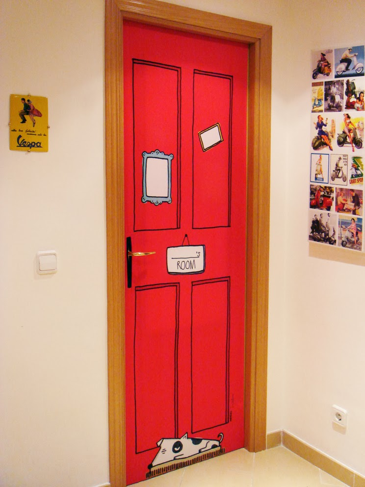 decorar puertas 7