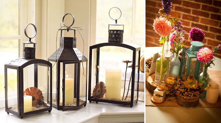 Ideas para decorar con faroles y farolillos - Luces decorativas ikea ...