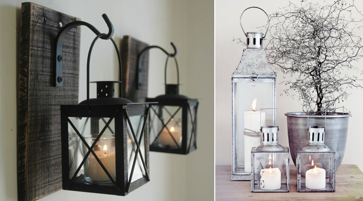 ideas para decorar con faroles y farolillos