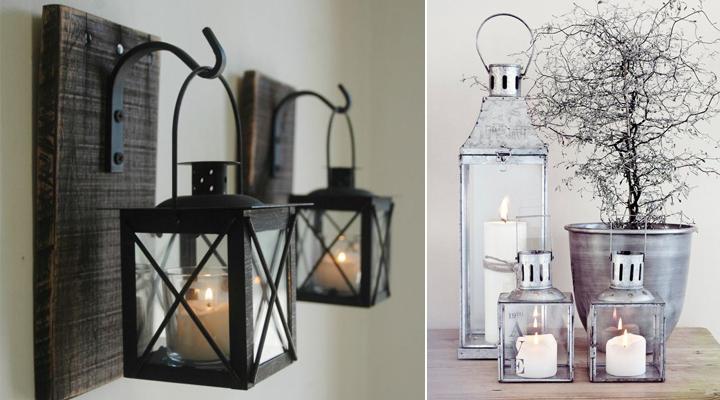 ideas para decorar con faroles y farolillos