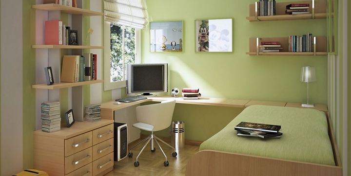 ideas para decorar habitaciones de estudio