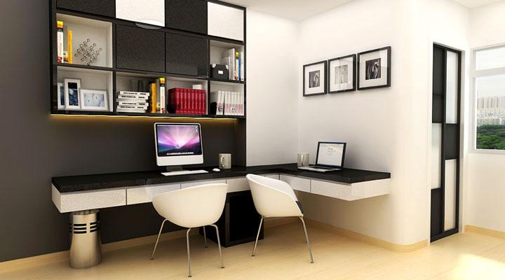 ideas para decorar habitaciones de estudio