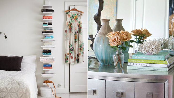 Decorar con libros for Decoracion con libros