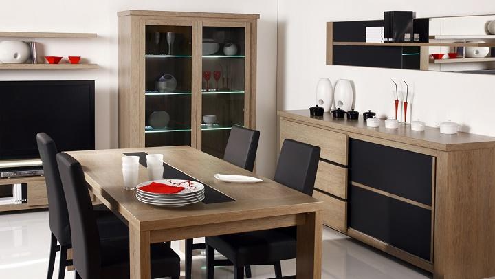 soluciones pr cticas para comedores peque os On muebles modernos para comedores pequenos