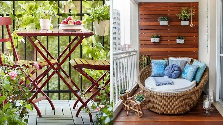 C mo escoger los mejores muebles para la terraza - Muebles para balcon pequeno ...