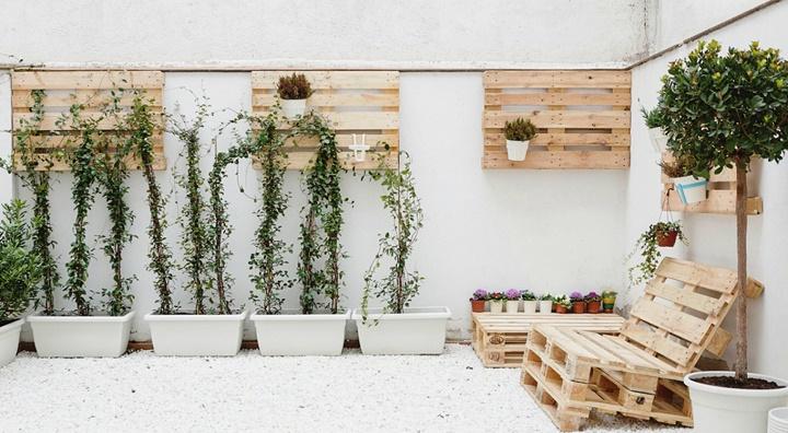 terraza palets
