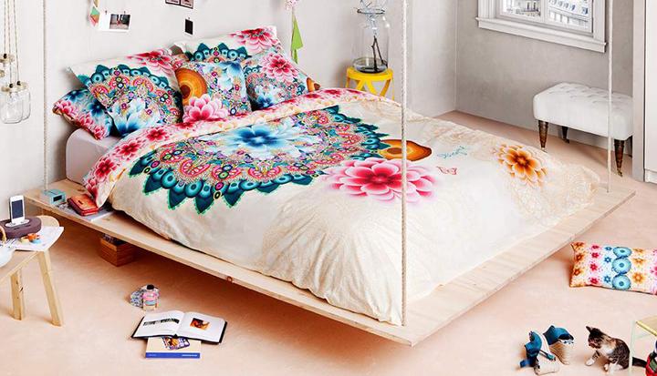 textiles para el dormitorio desigual home primavera-verano 2015