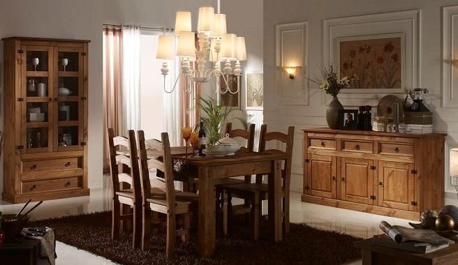 Salon rustico39 - Salon comedor rustico ...