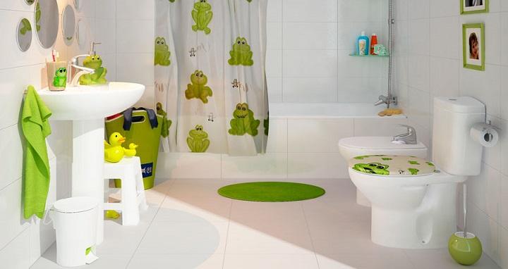 C mo decorar un cuarto de ba o infantil - Como decorar un cuarto de bano ...