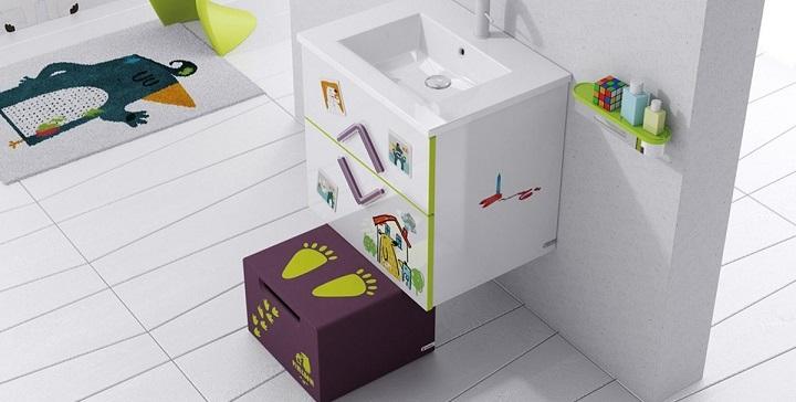 Water Cuarto De Baño:Cómo decorar un cuarto de baño infantil