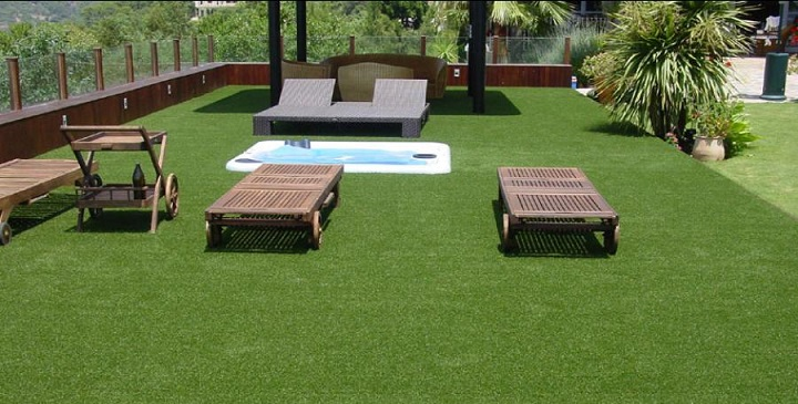 C sped artificial para el jard n y la terraza - Tipos de cesped artificial ...