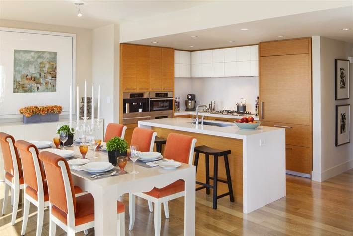 cocina abierta26 On cocinas abiertas al comedor y living