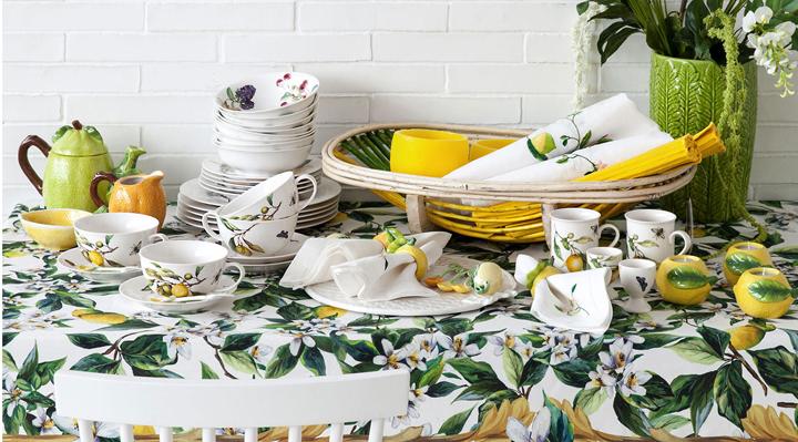 Colecci n zara home para la mesa verano 2015 for Zara home manteles mesa