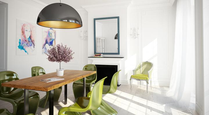 como decorar casas saludables
