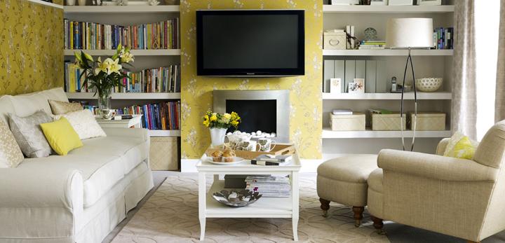 como decorar y ganar espacio en el salon