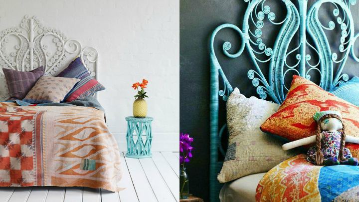 decoracion boho chic dormitorio
