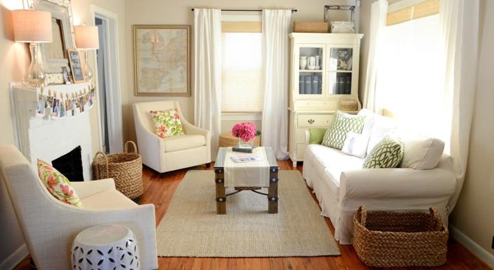 decorar salones pequenos y acogedores