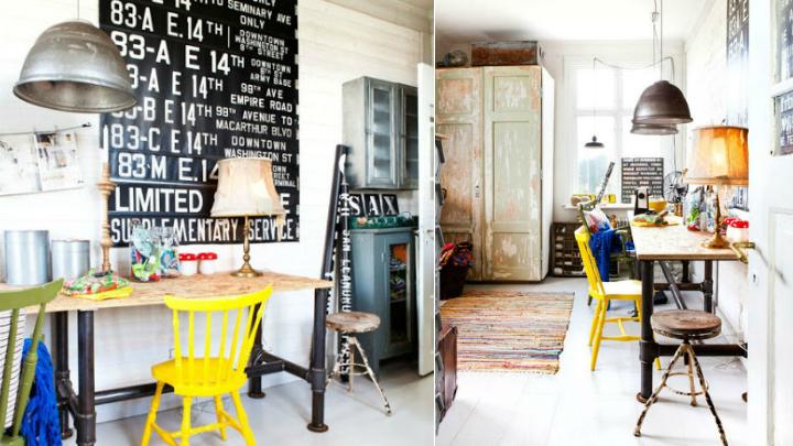 Ideas para decorar un despacho vintage for Como disenar un despacho