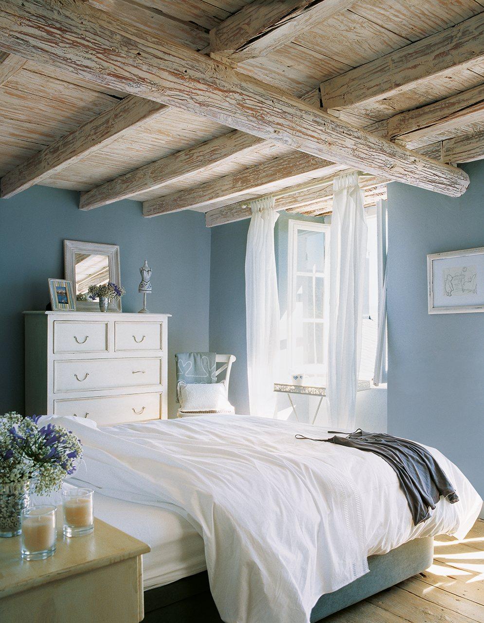 Decorablog revista de decoraci n - Como pintar un dormitorio para que parezca mas grande ...
