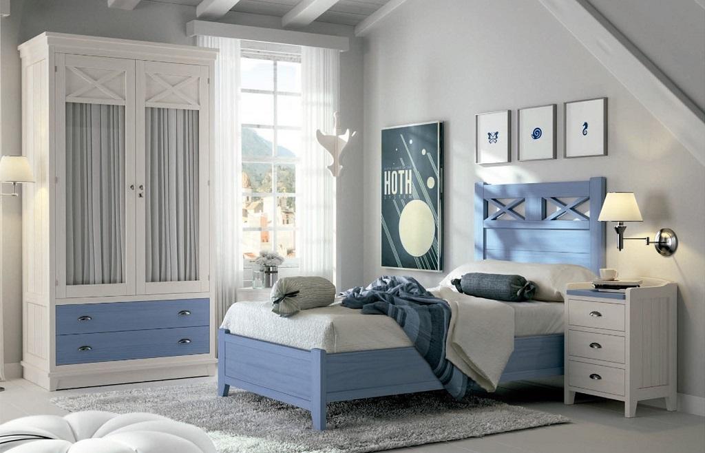 Dormitorio Azul ~ Decorablog Revista de decoración