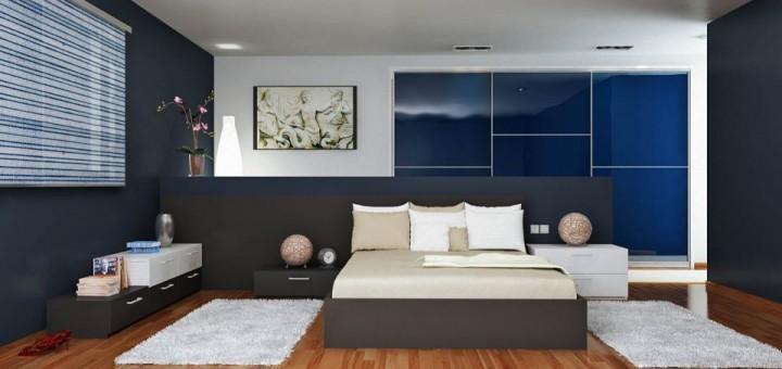Fotos de dormitorios de color azul - Habitaciones de color azul ...