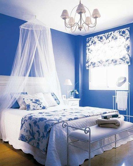 Fotos de dormitorios de color azul for Cuartos decorados azul