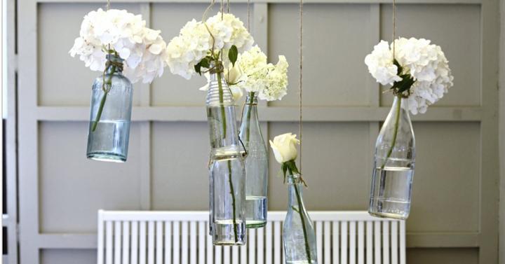 ideas faciles y baratas para decorar con flores