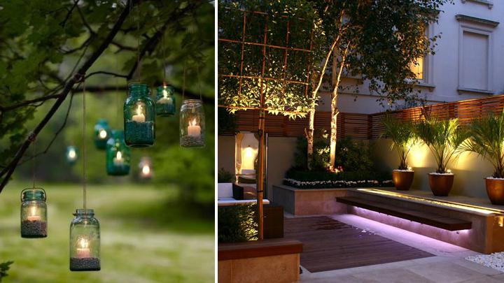 Claves para la iluminaci n del jard n for Luces de exterior para jardin