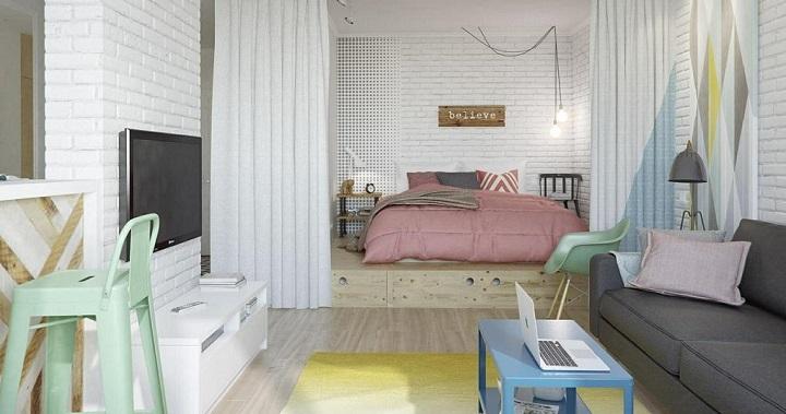 Decoraci n de un loft femenino - Ideas para decorar un loft ...