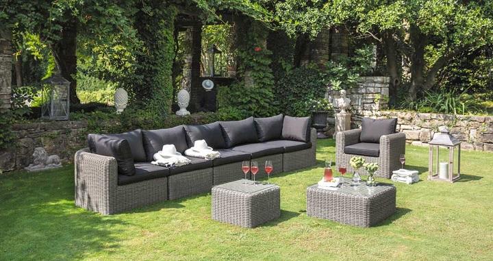 Muebles para el jardín 2015