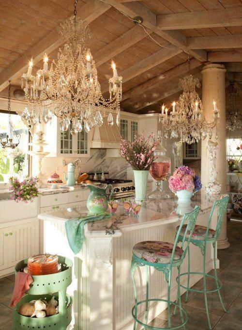 Cocina shabby chic 7 for Cocinas shabby chic