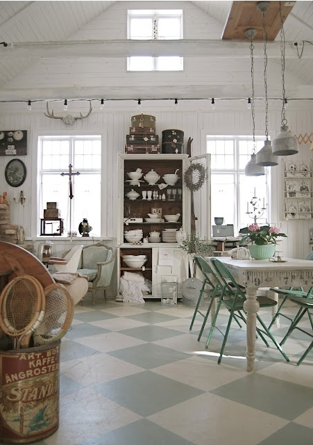 Cocina shabby chic 8 for Cocinas shabby chic