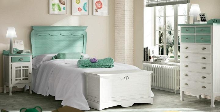 Dormitorio verde foto2