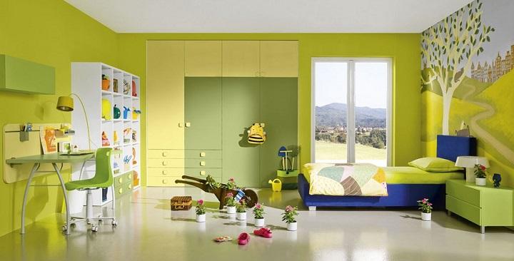 Fotos de dormitorios de color verde