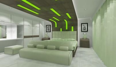 Dormitorio verde10