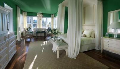 Dormitorio verde13